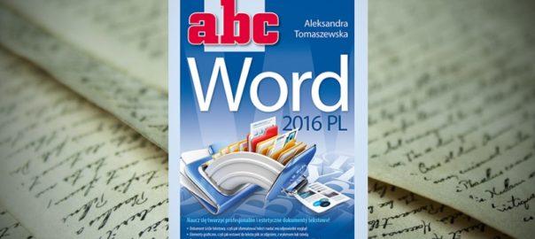 Książka Word 2016 - pdf do pobrania